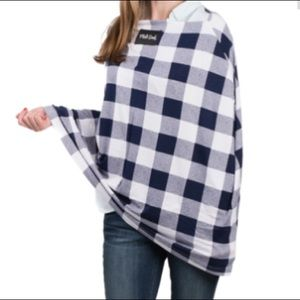 Milk Snob Accessories - Milk Snob Cover Navy Plaid NWOT